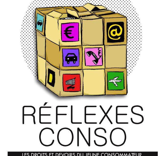 La presse présente pour les nouveaux livrets Réflexes