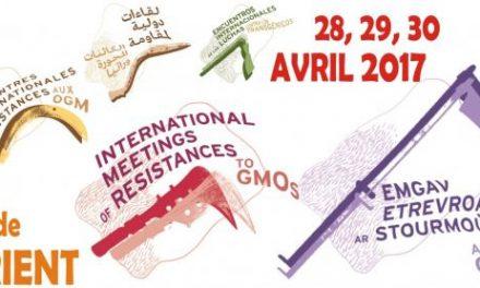 Rencontres Internationales des Résistances aux OGM 2017 : les 28, 29 et 30 avril