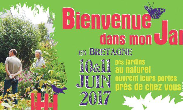 Bienvenue dans mon jardin en Bretagne le week-end du 10 et 11 juin !