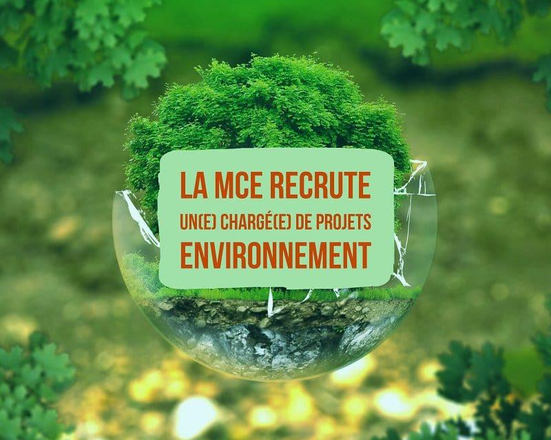 La Mce recrute un(e) chargé(e) de projets environnement
