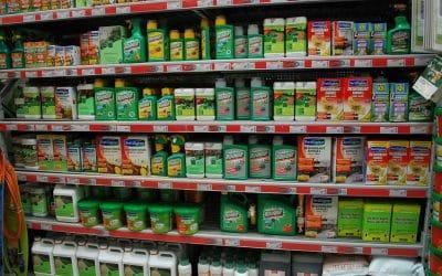 Pesticides vendus en magasins : 44% des enseignes en infraction !