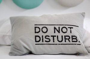 ne pas deranger bruit