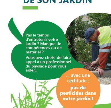 Choisir une prestation écologique pour l'entretien de son jardin (2017)