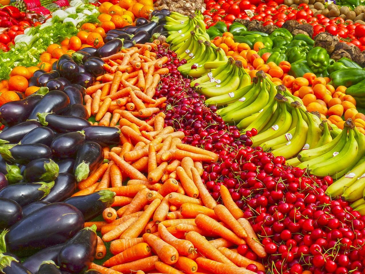 legumes fruits