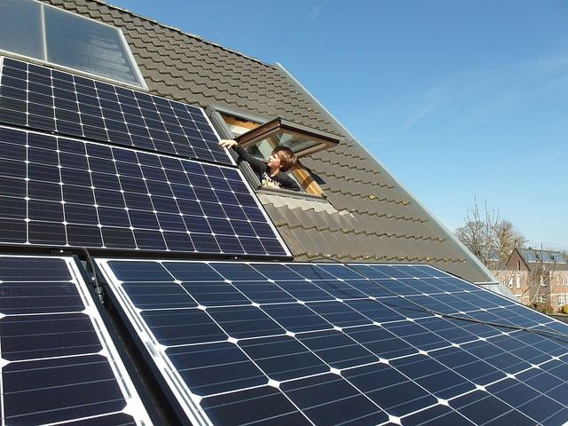 Démarchage pour des panneaux solaires