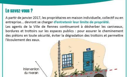Désherbage à Rennes : des consignes à respecter