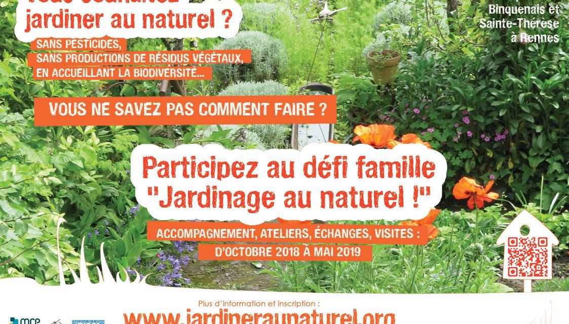 Un défi famille pour jardiner au naturel !