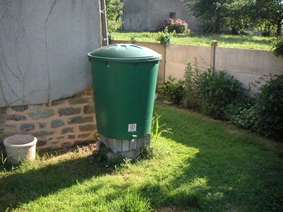 « Ecodo » : des bons d'achat sur les cuves de récupération d'eau de pluie