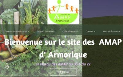 Amap d'Armorique : nouveau site web !