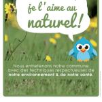 """""""Ma commune je l'aime au naturel"""" : affiches personnalisables pour promouvoir l'abandon des produits phytosanitaires"""