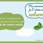 """""""Ma commune je l'aime au naturel"""" : bannières web et mascotte pour promouvoir l'abandon des produits phytosanitaires"""