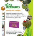 Zéro pesticide dans nos villes et nos villages.