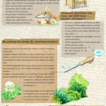 4 panneaux sur le jardinage au naturel