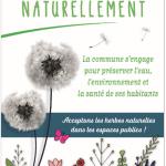 """Panneau """"Espace sans pesticide"""""""