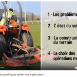 """Vidéo """"L'entretien des terrains sportifs pour tendre vers le zéro phyto"""