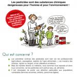 """Brochure """"Pesticides : un problème de santé publique"""""""