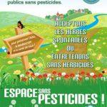 Espaces sans pesticide