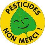 Autocollant Pesticides non merci