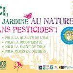 Panneau signalétique : Ici je jardine sans pesticides ! - S73