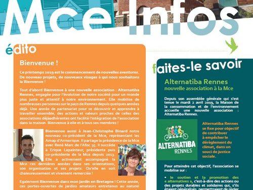 Mce-infos n°100 (2019)