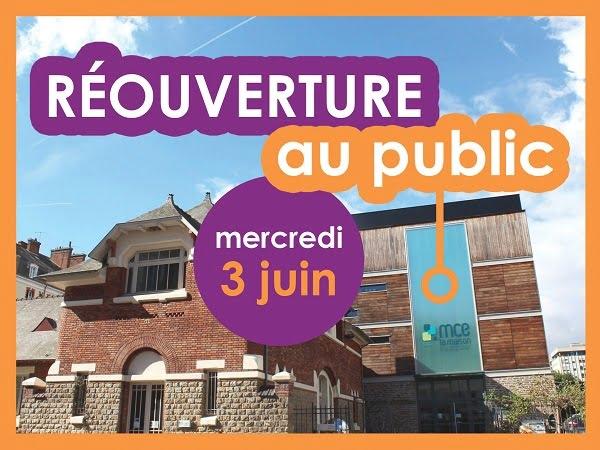Mce : une réouverture progressive au public en juin