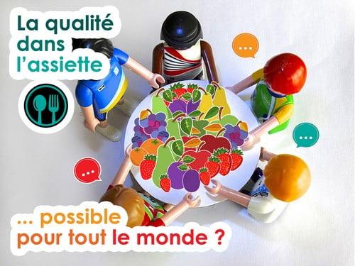 une alimentation durable accessible à tous !