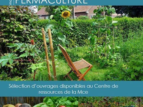Sélection d'ouvrages sur la permaculture (2018)