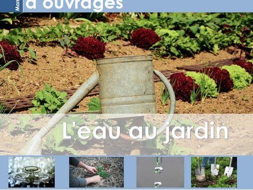 Sélection d'ouvrages sur l'eau au jardin (2019)