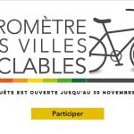 Baromètre 2019 des villes cyclables : donnez votre avis !