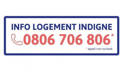 Logement indigne : un numéro d'information et d'orientation – locataires et propriétaires