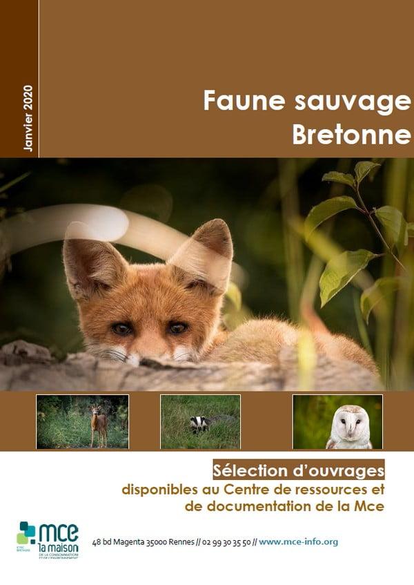 La faune sauvage de Bretagne