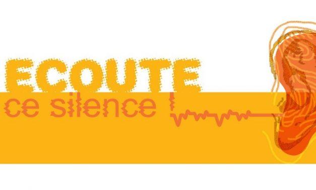 Dépliant sur le bruit – Ecoute ce silence (2020)