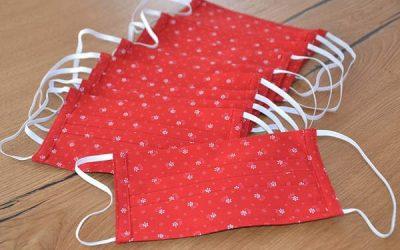 Masques en tissu  : l'Indecosa-Cgt 35 en distribue avec Aiguillon !