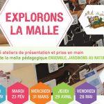Malle pédagogique « Ensemble, jardinons au naturel » : des ateliers de découverte