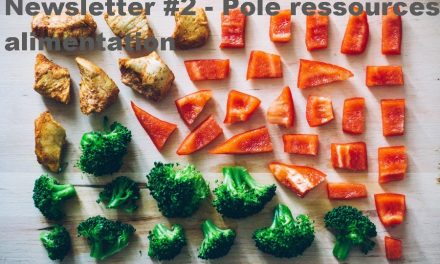 Transition alimentaire : la newsletter n°2 est sortie!