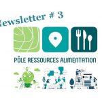 Pôle ressources alimentation : la newsletter n°3 vient de sortir !