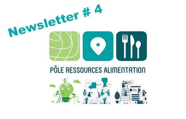 Pôle ressources alimentation: la newsletter n°4 vient de sortir !