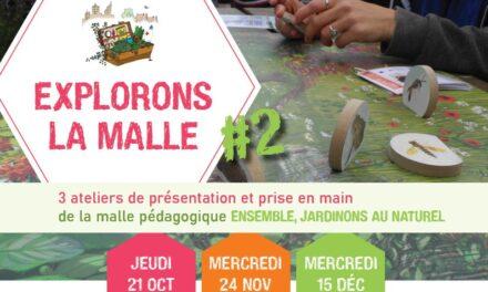 « Ensemble, jardinons au naturel » : des ateliers-découverte de la malle pédagogique